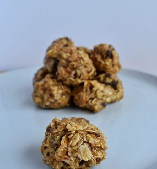 No Bake Maple Tahini Cookies