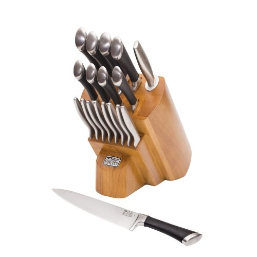 1.Chicago Cutlery Fusion 18pc Block Set
