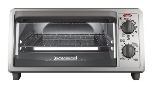 BLACK+DECKER 4-Slice Countertop Toaster Oven