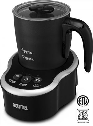 Gourmia GMF235 Cordless Electric Milk Frother