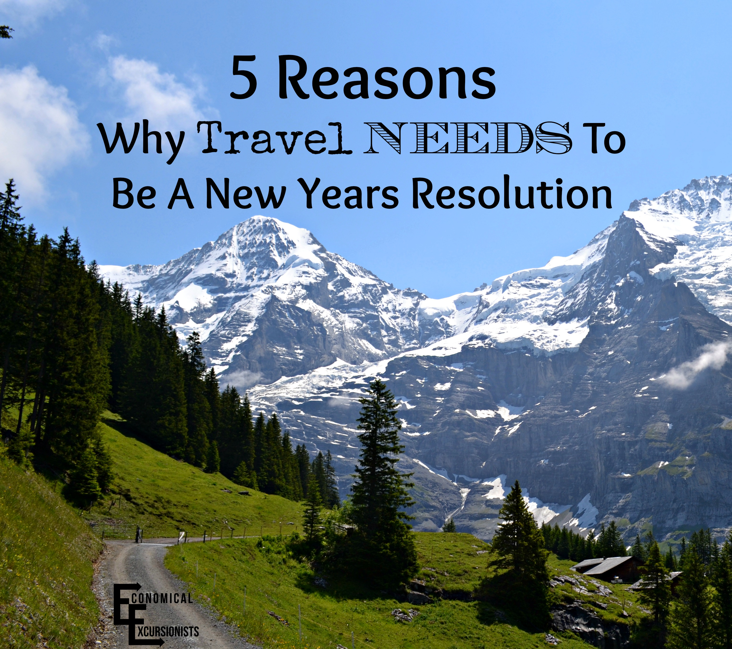 New Travel Trailers: The Best New Years Resolution You Can Make