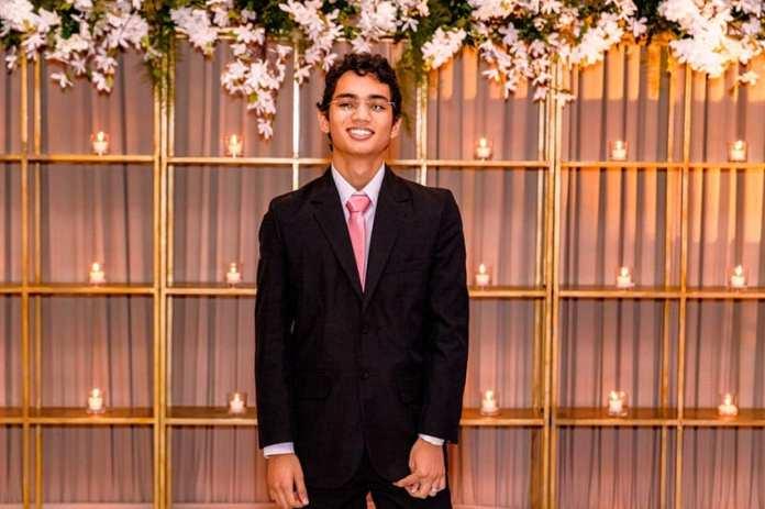 o jovem foi convidado, recentemente, para fazer parte da turma de 2025 da Minerva Schools, Universidade de São Francisco, nos Estados Unidos.