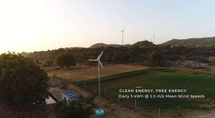 Criada pela startup Avant Garde Innovations, a turbina tem 3 metros de diâmetro e é ideal para casas, comércios e áreas rurais. (Foto: Avant Garde Innovations)