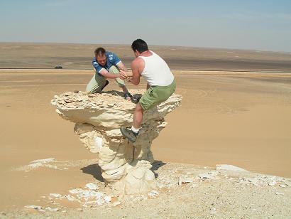 Восточная Сахара. Эррозия. 09.05.2006