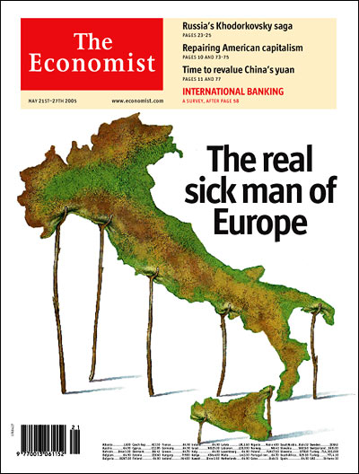 Europe Issue Cover for May 21st 2005