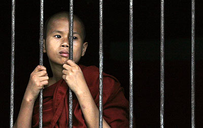 monge in Burma