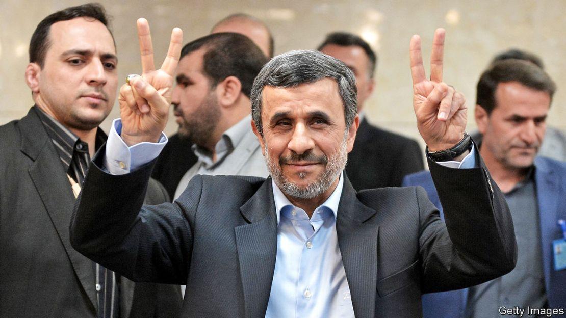 Does Mahmoud Ahmadinejad want to be president of Iran again? | The Economist