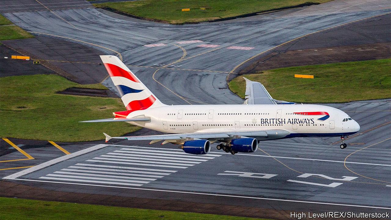 british airways suspends a