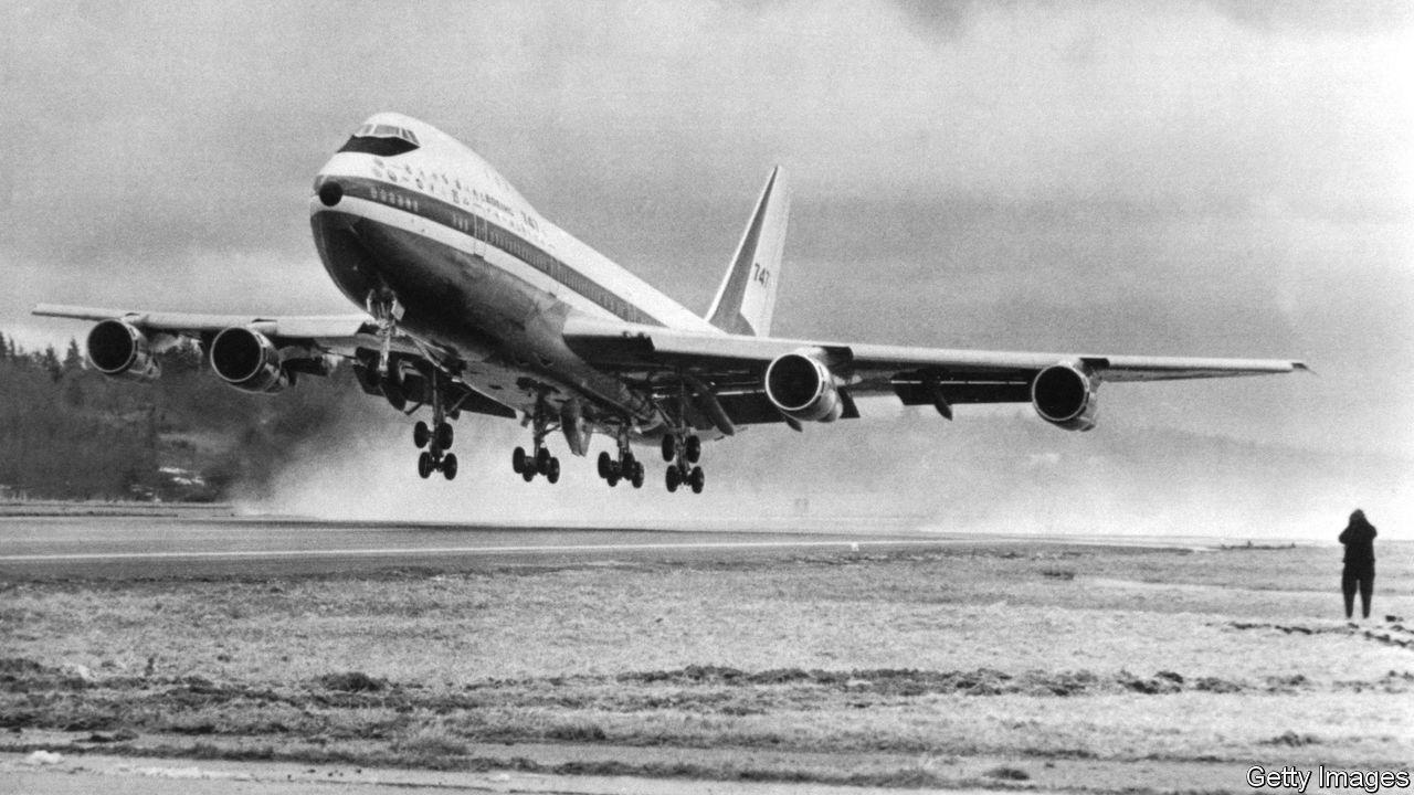 the boeing 747 jetliner