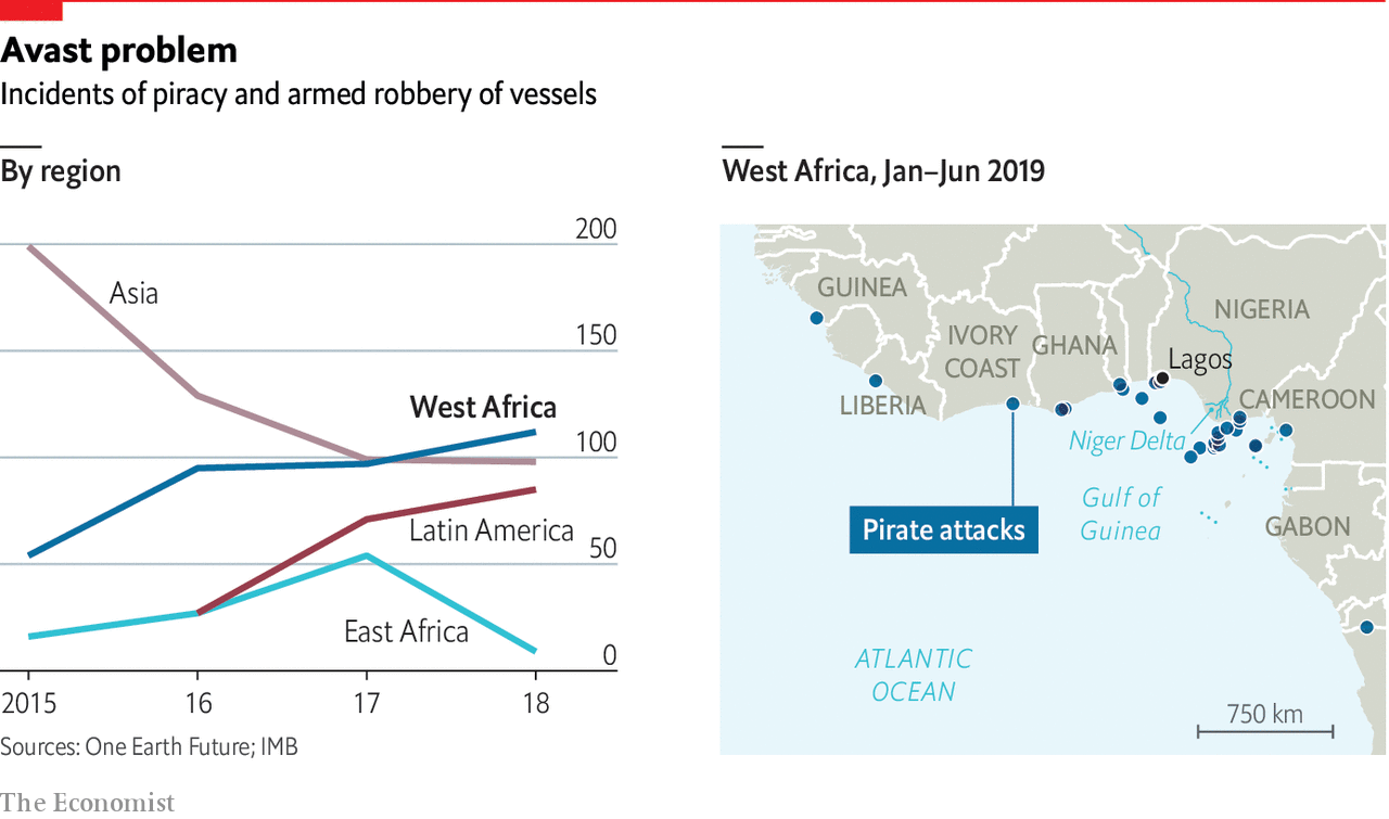 hight resolution of daily chartwest africa has become the world s piracy hotspot
