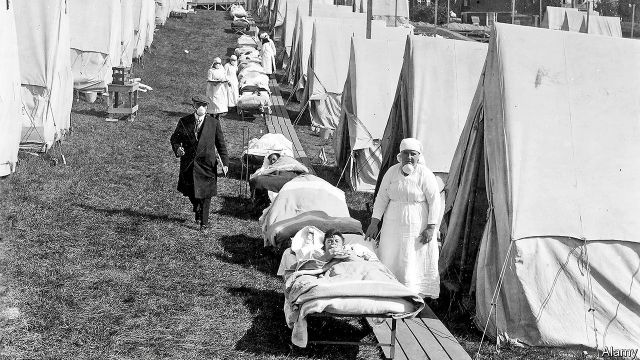 Pandemics past and present - A peculiarity of Spanish flu may shed ...