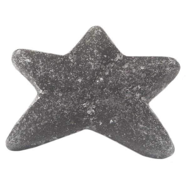 Black Salt Dusted Licorice Starfish