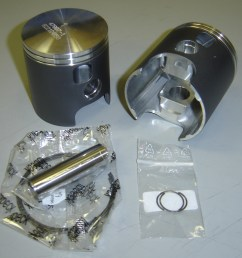 wossner piston kits yamaha r5 all years sold each [ 1693 x 1632 Pixel ]