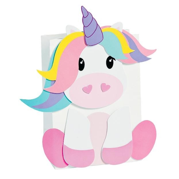 Econocrafts Unicorn Craft Paper Bag Craft Kit