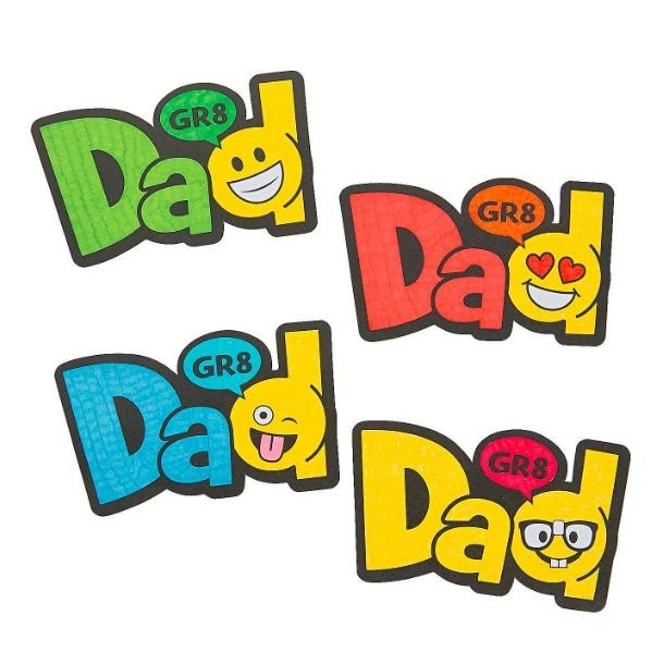 Econocrafts Color Your Own Emoji Father S Day Magnets