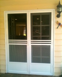 Screen Doors, Window Screen Repair, Mobile Screen Service