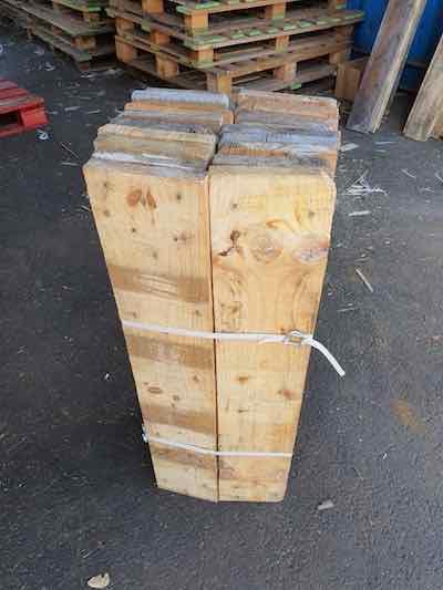 Lot de 20 planches larges en 80 cm