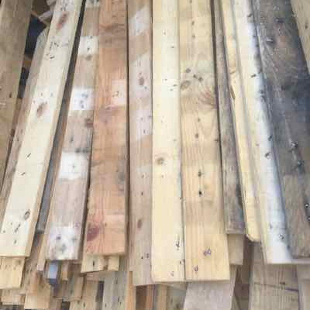 planches de palette en vrac 80 cm - EcoPAL
