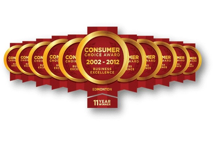 Consumers Choice Award : Edmonton