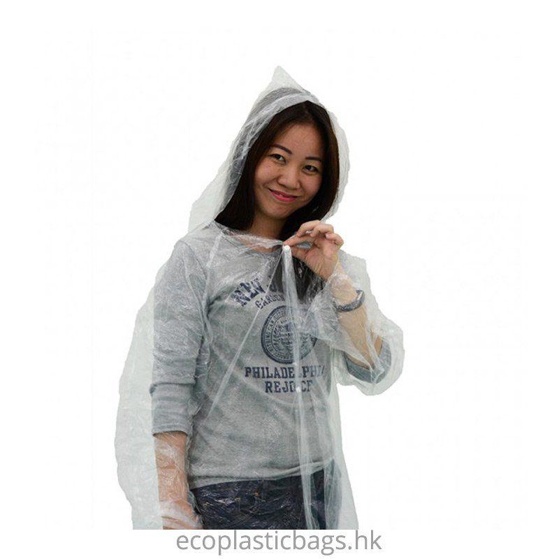 定制一次性鈕扣雨衣(獨立包裝)-寰宇五金塑膠製品廠有限公司
