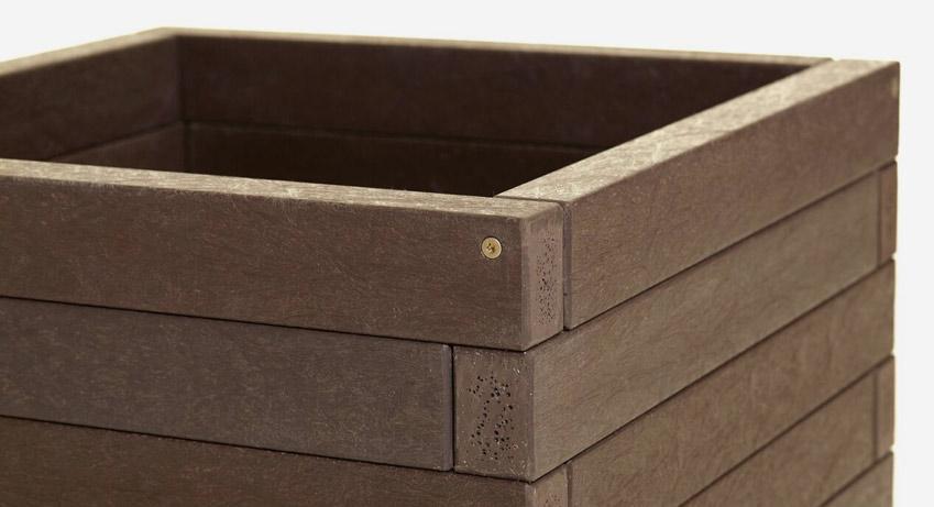 Plastic Wood Planters 100 Bespoke Eco Plastic Wood