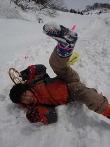 「超豪快山岳尻滑り」はおもしろさにみんなが絶叫!