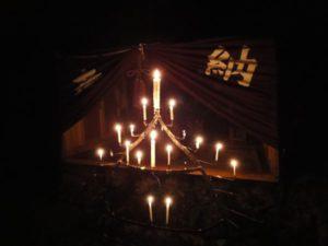 「泣き地蔵」の奥には「三義人」が祀られています。