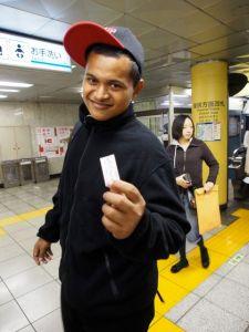 130322地下鉄の切符