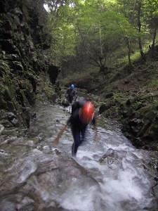 沢登りの体験も、ヤップでの日々を充実させるための準備です