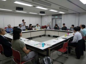 総会では、参加者一人ひとりが近況を報告し合いました