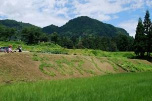 The work celebrating 130th anniversary of the founding of Tochikubo elementary school.