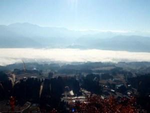 栃窪峠からの眺めです。