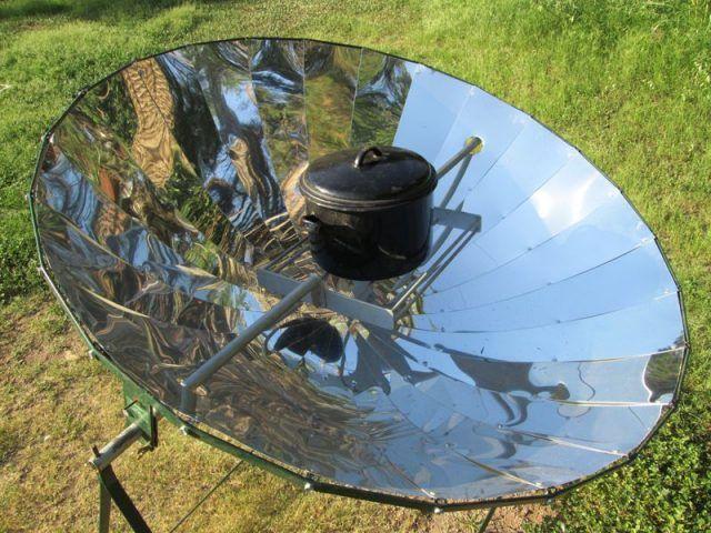 Cmo hacer un espejo parablico con un inflador y una