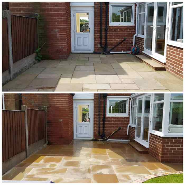 IMG_20180518_201743_607 Indian Sandstone Patio / K-rend Cleaning - Knowsley Village, Liverpool