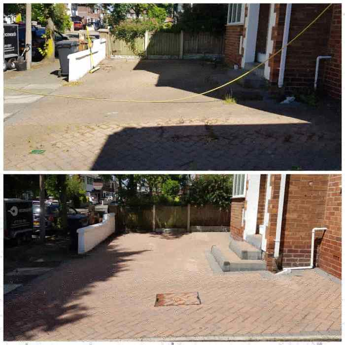 IMG_20180625_161045_853 Block Paving Driveway Cleaning / Sealing Preparation - Prenton, Wirral
