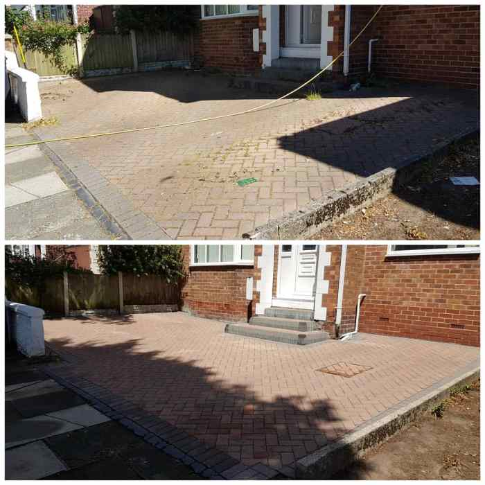IMG_20180625_161203_496 Block Paving Driveway Cleaning / Sealing Preparation - Prenton, Wirral