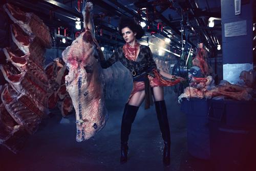 Americas Next Top Model Is DEAD MEAT  Ecorazzi