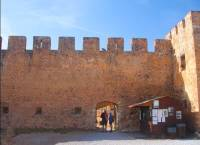 The entrace of the Fortress