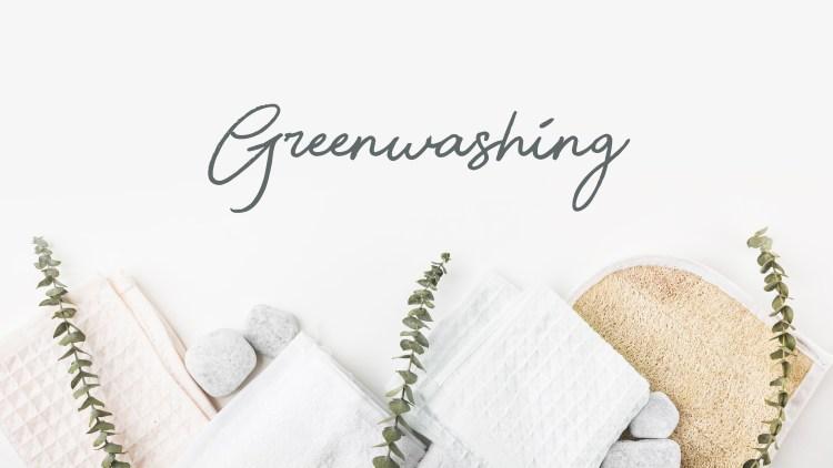 Greenwashing: nasconde lo sporco in bella vista.