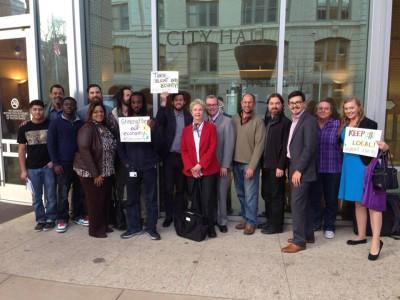 2015 2 feb city hall group shot