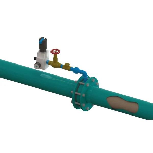 intensificador de linha para fundição eco sand