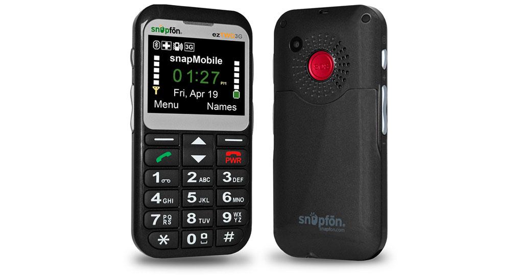 Snapfon Eztwo Senior teléfono celular GSM