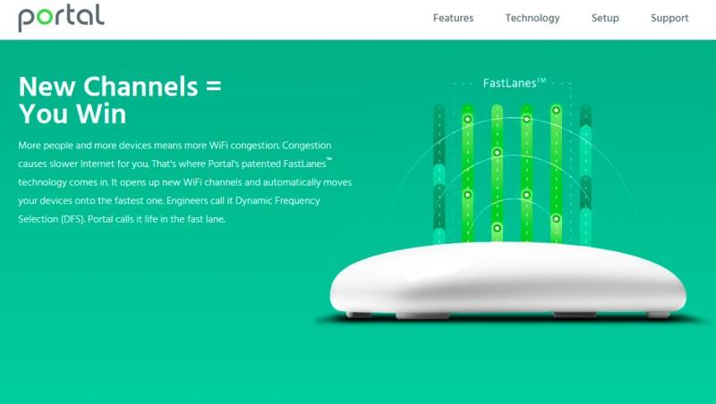 Router Wifi Portal