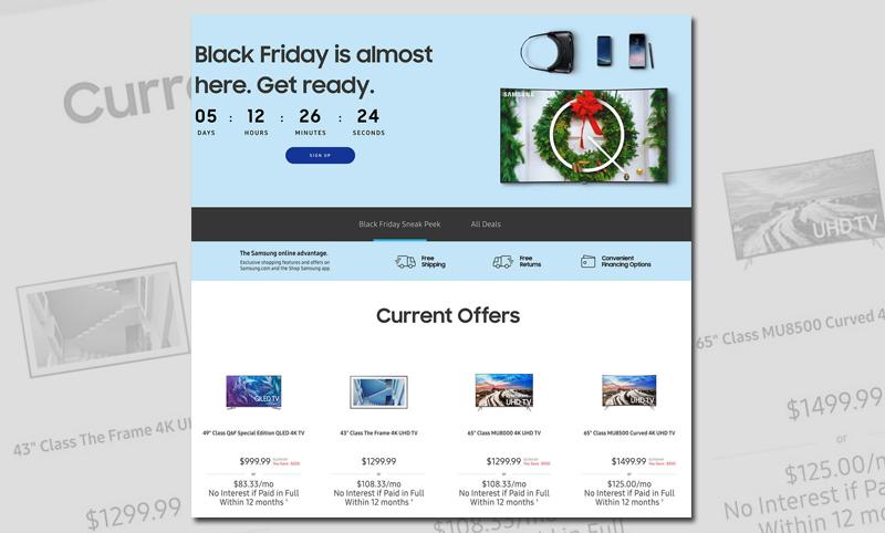 Las tiendas de marcas tecnológicas también tienen sus descuentos de Black Friday