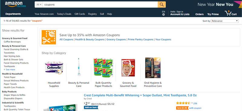 Cupones de Amazon