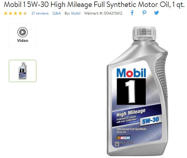 aceite de motor 1 cuarto de galon