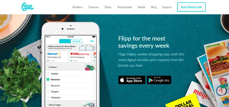 flipp- Apps para obtener descuentos