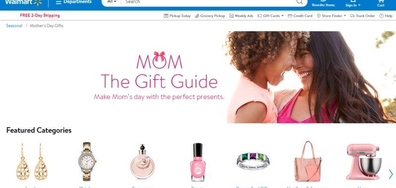 Ofertas para el Día de la Madre Walmart