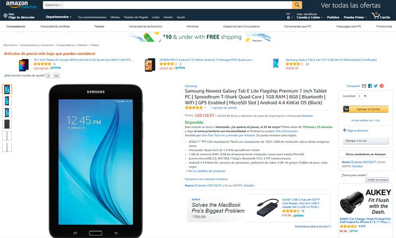Samsung Newest Galaxy Tab E Lite