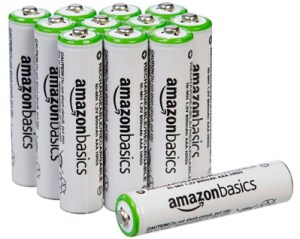 AmazonBasics AAA Baterías recargables
